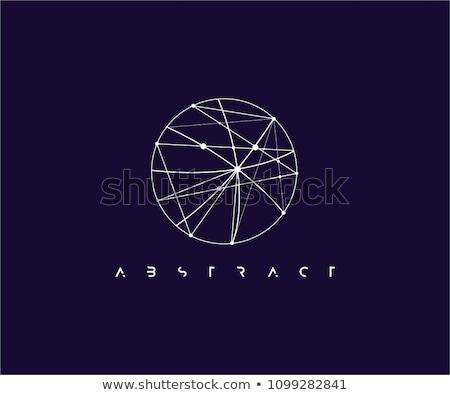 O betű szimbólum logotípus terv elemek forma Stock fotó © blaskorizov