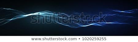 machine · apprentissage · numérique · visage · résumé - photo stock © rastudio