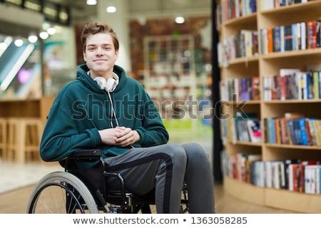 девушки · мальчика · коляске · иллюстрация · ребенка · студент - Сток-фото © bluering