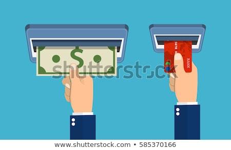 mobiele · bitcoin · portemonnee · ontwerp · stijl · web - stockfoto © smoki