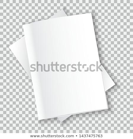 books on gray transparent background stock photo © romvo