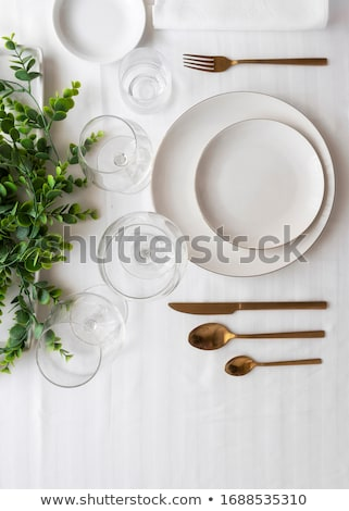 Tabel lifestyle abstract achtergrond restaurant Stockfoto © OutStyle