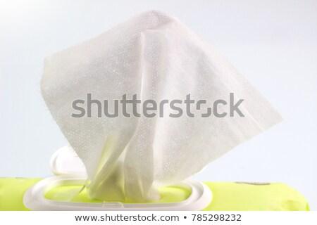 Strony mokro pakiet polu czyszczenia Zdjęcia stock © adamr