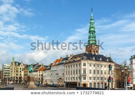 Kare Kopenhag dikdörtgen biçiminde kamu şehir merkez Stok fotoğraf © borisb17