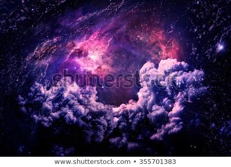 Galaxis elemek kép égbolt felhők éjszaka Stock fotó © NASA_images