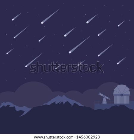 Observatory on the mountain. Stock photo © olira