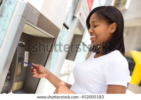 African American Financial Saving Balance Stock photo © AndreyPopov