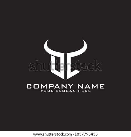 Taurus Logo Template Stock photo © Ggs