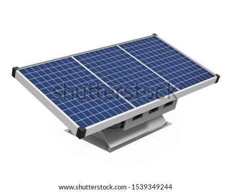 solar cells isolated  Stock photo © Witthaya
