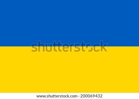 Bandeira Ucrânia país bandeira ilustração Foto stock © ozaiachin