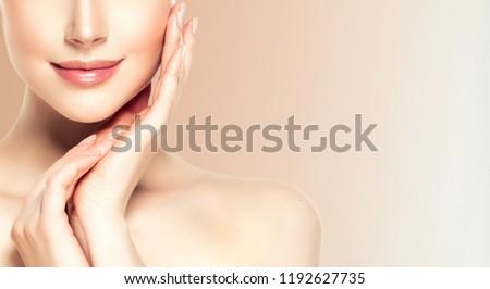 Női egészség szépség nő égbolt jókedv Stock fotó © IS2
