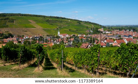 view of Barr, Alsace, France Stock photo © borisb17
