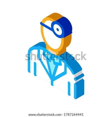 Lore isometric icon vector illustration Stock photo © pikepicture