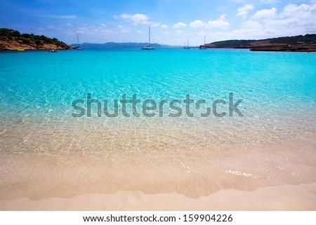 Praia turquesa mediterrânico mar verão oceano Foto stock © lunamarina