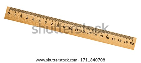 wood tape isolated on white background with clipping path Stock photo © tungphoto