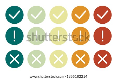 problem flat yellow and white colors rounded button stock photo © ahasoft