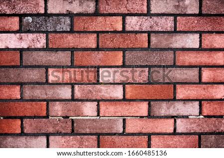 kahverengi · renkli · tuğla · duvar · duvar · tuğla · dizayn - stok fotoğraf © rufous