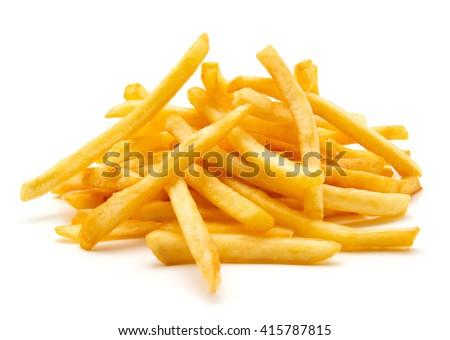 French crispy potato fries Stock photo © karandaev