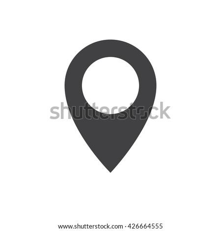 mapping pins icon vector Stock photo © nezezon