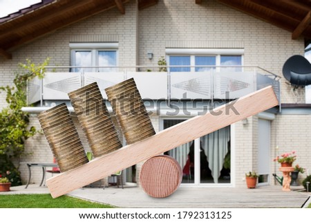 Mortgage Real Estate Financial Leverage Stock photo © AndreyPopov