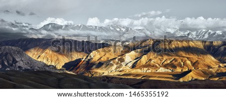 annapurna landscape Stock photo © smithore