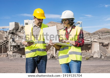 Professionals to discuss technical requirements Stock photo © pzaxe