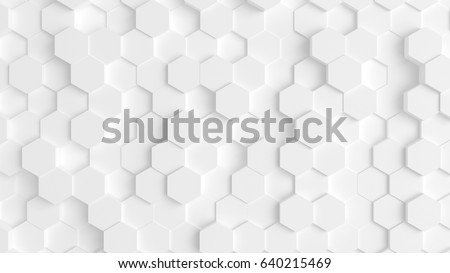 Abstract background with 3d hexagons Stock photo © illustrart