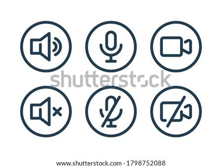 Speaker basic Stock photo © romvo