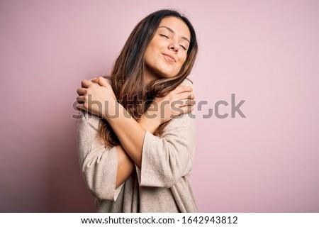 mulher · brilhante · quadro · branco · cara · cabelo - foto stock © dolgachov
