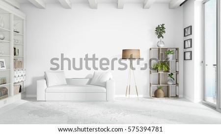 Empty living room Stock photo © wavebreak_media