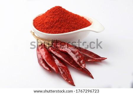 Terra rosso pepe chili ciotola Foto d'archivio © Digifoodstock