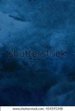 装飾的な 水彩画 青 ベクトル 絵画 テクスチャ ストックフォト © kostins