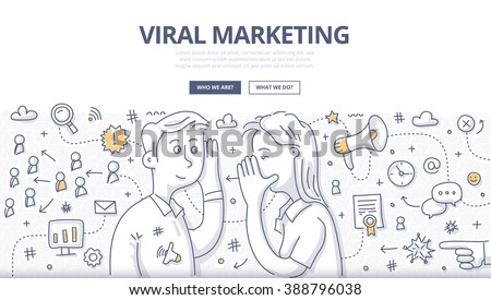 Virale marketing brieven houten bureau laptop computer Stockfoto © Mazirama