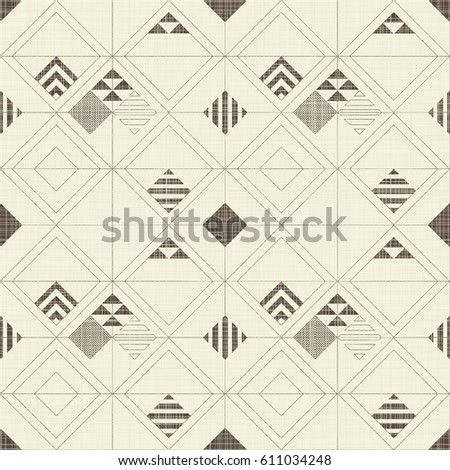 abstract grunge seamless background with diagonal grid stock photo © loopall