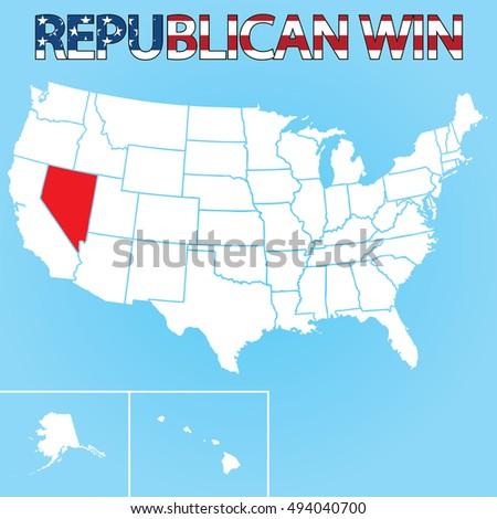 zászló · Nevada · nagyszerű · kép - stock fotó © tony4urban