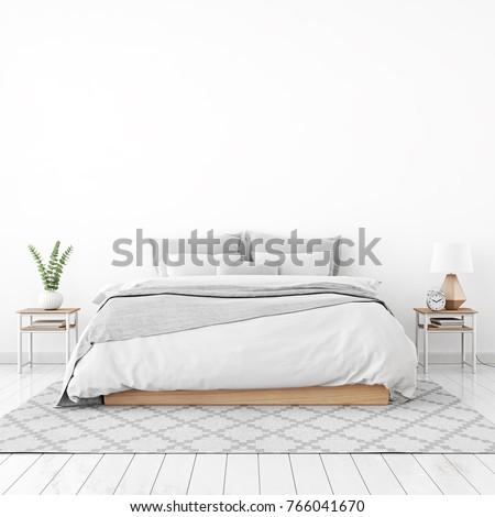 3d interior of bedroom Stock photo © tiero
