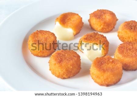 Camembert nuggets Stock photo © Alex9500