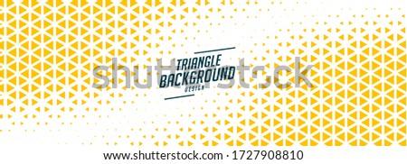 Triângulo meio-tom bandeira amarelo branco parede Foto stock © SArts