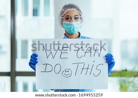 gülen · kadın · doktor · hemşire · göz · grafik - stok fotoğraf © iofoto