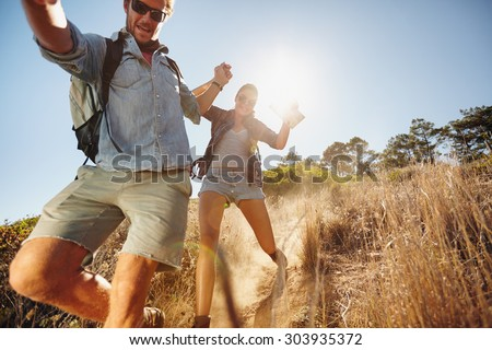 hiking couple Stock photo © val_th