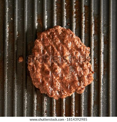 griddle with raw pork Stock photo © Antonio-S