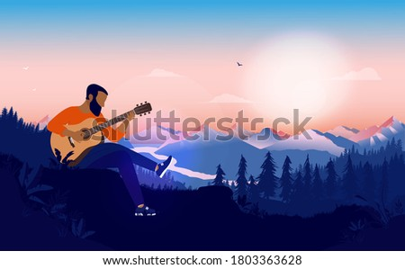 Calming music. Stock photo © Fisher