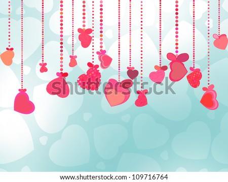 Beautiful greeting valentine day heart. EPS 8 Stock photo © beholdereye