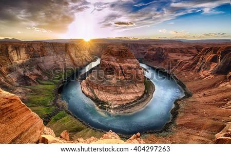 Grand Canyon Arizona kolorowy wieczór dekoracje parku Zdjęcia stock © prill