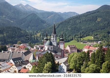 базилика · Австрия · мнение · главная · улица · здании · улице - Сток-фото © borisb17