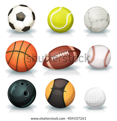 Ball Game Set Stock photo © benchart