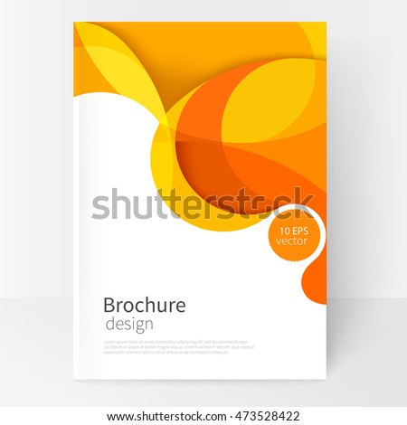 Abstract twist line  background. Template brochure design stock photo © fresh_5265954