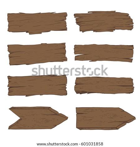 conjunto · vetor · vazio · desenho · animado · bandeira - foto stock © robuart