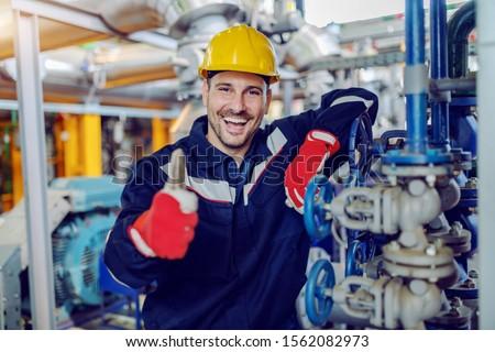 Technicus werk man vak macht tool Stockfoto © nomadsoul1