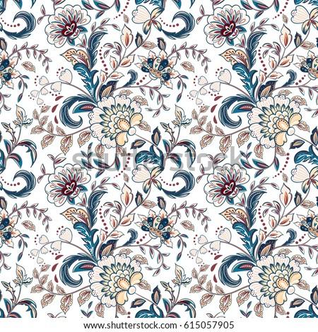 Wzór kwiatowy stylu kwiat taflowy mandala Zdjęcia stock © sanyal